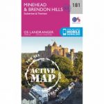 Active Landranger Map 181 Minehead and Brendon Hills