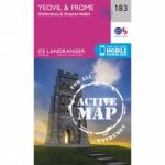 Active Landranger Map 183 Yeovil and Frome