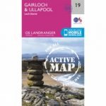 Active Landranger Map 19 Gairloch and Ullapool