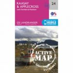 Active Landranger Map 24 Raasay and Applecross