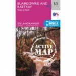 Active Landranger Map 53 Blairgowrie and Rattray