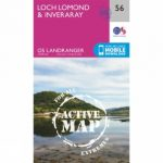 Active Landranger Map 56 Loch Lomond and Inveraray