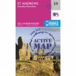 Active Landranger Map 59 St Andrews