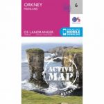 Active Landranger Map 06 Orkney – Mainland