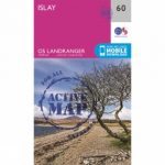 Active Landranger Map 60 Islay