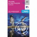 Active Landranger Map 65 Falkirk and Linlithgow