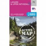 Active Landranger Map 71 Lanark and Upper Nithsdale
