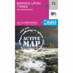 Active Landranger Map 75 Berwick-upon-Tweed