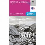 Active Landranger Map 79 Hawick and Eskdale