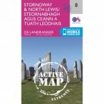 Active Landranger Map 08 Stornoway and North Lewis