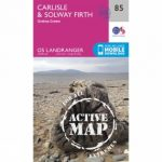 Active Landranger Map 85 Carlisle and Solway Firth