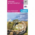 Active Landranger Map 87 Hexham and Haltwhistle