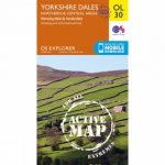 Active Explorer Map OL30 Yorkshire Dales – North and Central Area