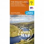 Active Explorer Map OL5 The Lake District – North-Eastern Area