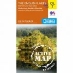 Active Explorer Map OL7 The Lake District – South-Eastern Area