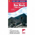 Ben Nevis & Glen Coe British Mountain Map 1:40K